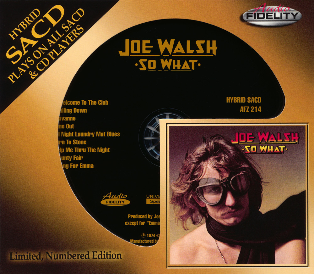 Plain and Fancy: Joe Walsh - So What (1974 us, wonderful guitar rock