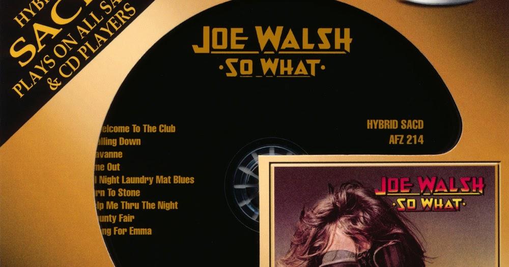 Plain and Fancy: Joe Walsh - So What (1974 us, wonderful