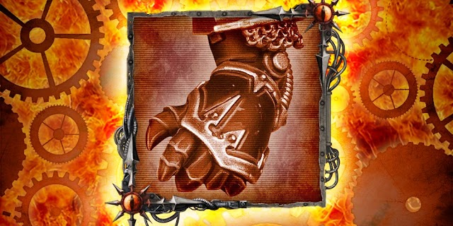 The Daemon Engine's Powerfist