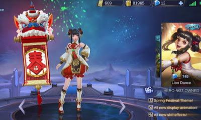 Lolita Skin Special Lion Dance Mobile Legends