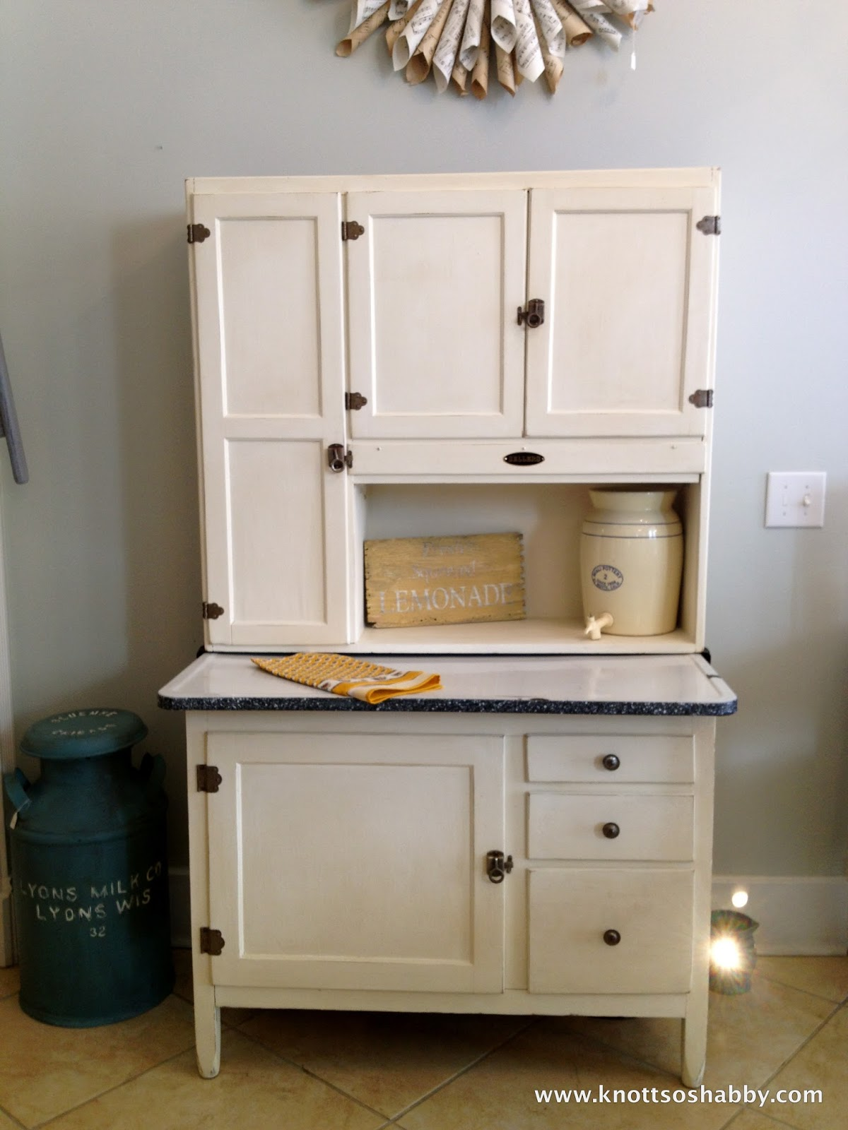Painted 60s Kitchen Cabinets Vintage Retro 1950 39s 60 39s Kitchen Larder Cabinet