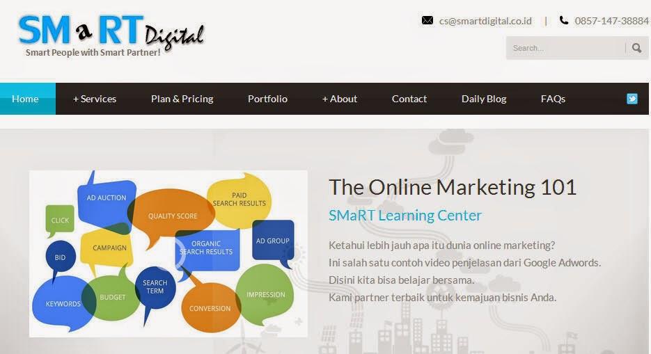 Jasa SEO dan Digital Marketing Agency Terbaik www.smartdigital.co.id