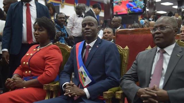 Jovenel Moise sworn in as Haiti's new president after long-running crisis