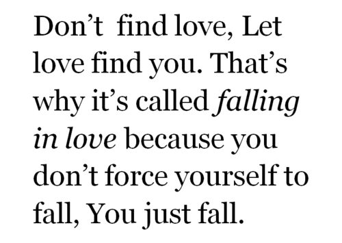 Love Finds You Quote: Love In Reality