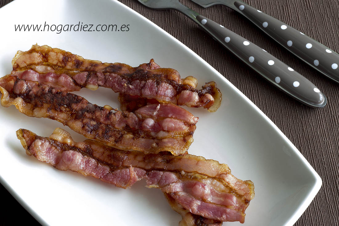 Crujiente de bacon