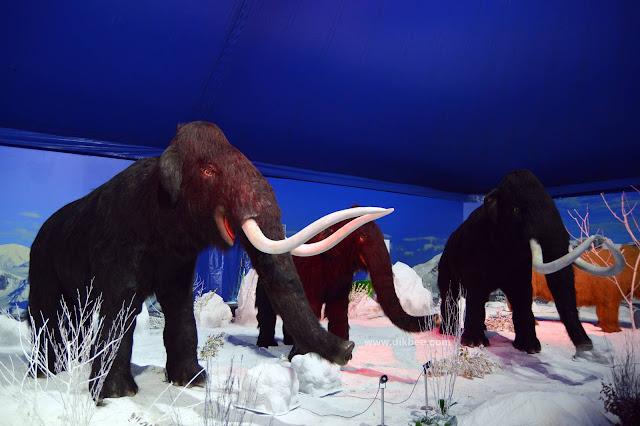 Teruja Tengok Dinosaur Di Ice Age Alive KL 2018