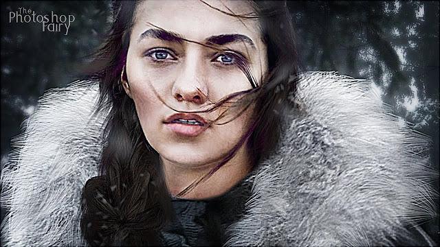 A atriz Maisie Williams, disse durante entrevista que Arya terminou em uma cena perfeita.