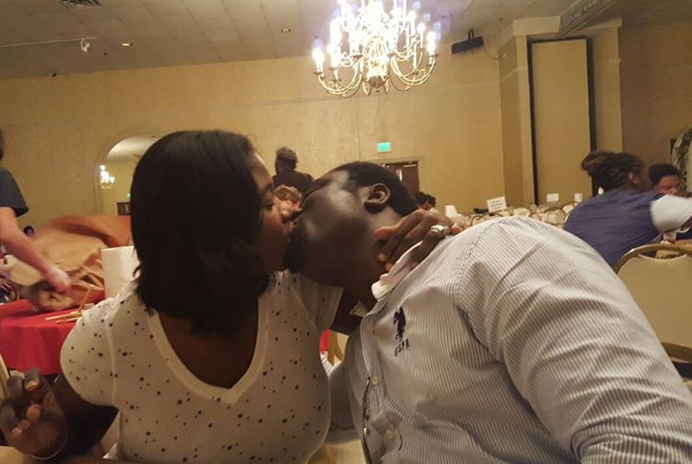 mercy johnson kissing her husband