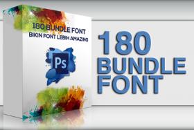 180 Font Style Bundle