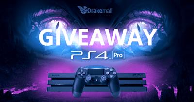 Drakemall PlayStation 4 Pro Console Giveaway #Worldwide | Free Stuff