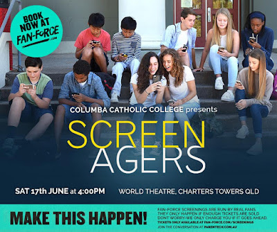 Screenagers at World Theatre, Charters Towers