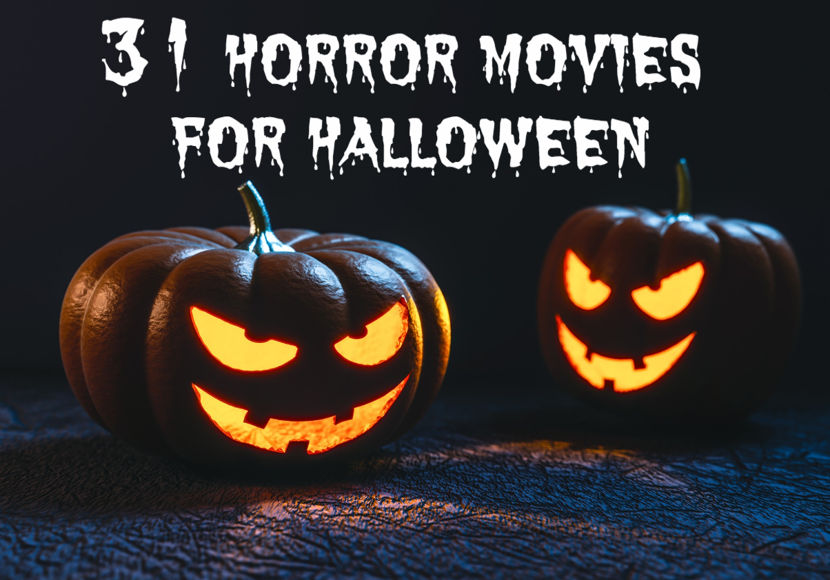 nerd burger: 31 horror movies for halloween