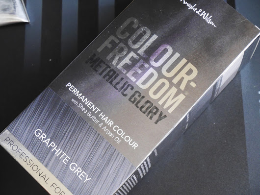 Colour Freedom Metallic Glory Graphite Grey Hair Dye Review
