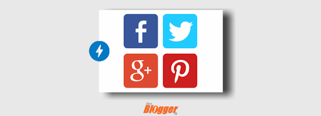 Compartilhamento AMP para Blogger ( Facebook, Whatsapp, Twitter, Google...)