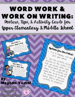 https://www.teacherspayteachers.com/Product/Word-Work-Work-on-Writing-for-Upper-Elementary-Middle-School-2070320