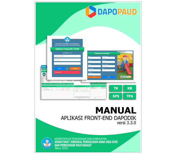 Manual Aplikasi Front-End Dapodik PAUD Versi 3.3.0