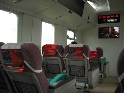 Inilah Jenis Kelas dan Sub Kelas di Kereta Api