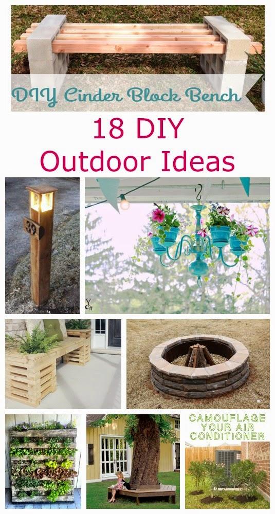 18 Diy Outdoor Ideas A Glimpse Inside