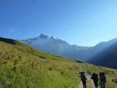 La Ville des Glacieres Tour del Mont Blanc