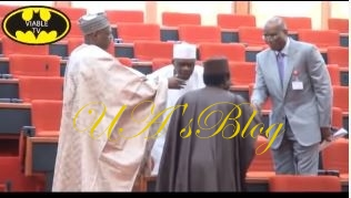 Video Of Senator Omo-Agege Resuming Plenary Today Goes Viral