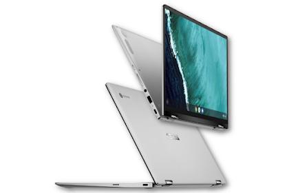Asus Chromebook Flip C434, Layar Lipat 360 derajat Hadir di CES 2019