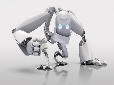 Robot-scimmia