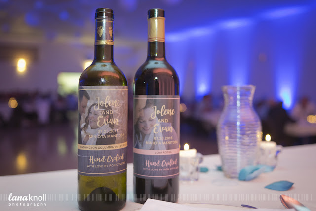 wine labels by Lana Knoll Photography