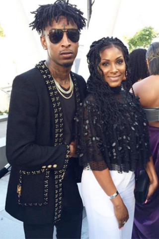 Rapper 21 Savage's mum is so gorgeous (photos)