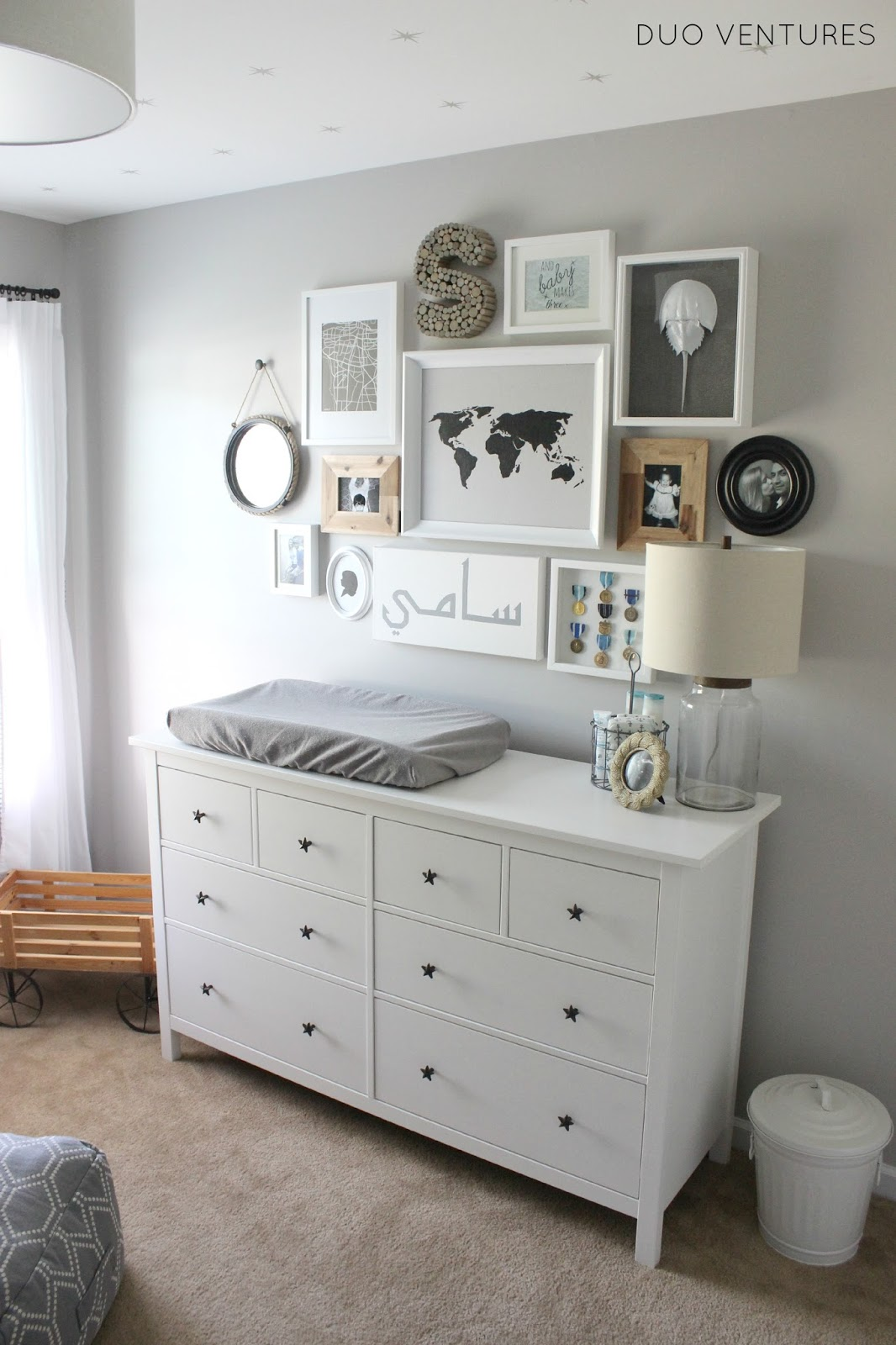 Mueble Comoda Duo Ventures: The Nursery: Custom Ikea Hemnes Dresser