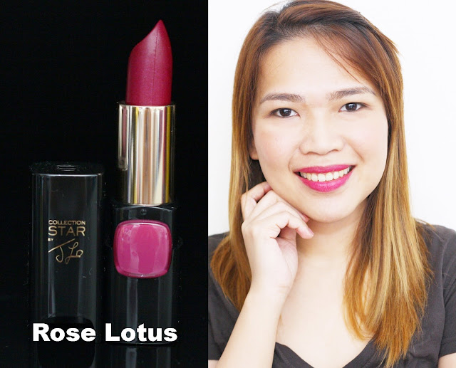 a photo of L'Oreal Color Riche Collection Star Velvet Pinks in Rose Lotus