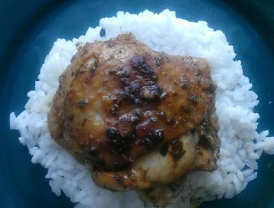 Pieczony kurczak z papryką