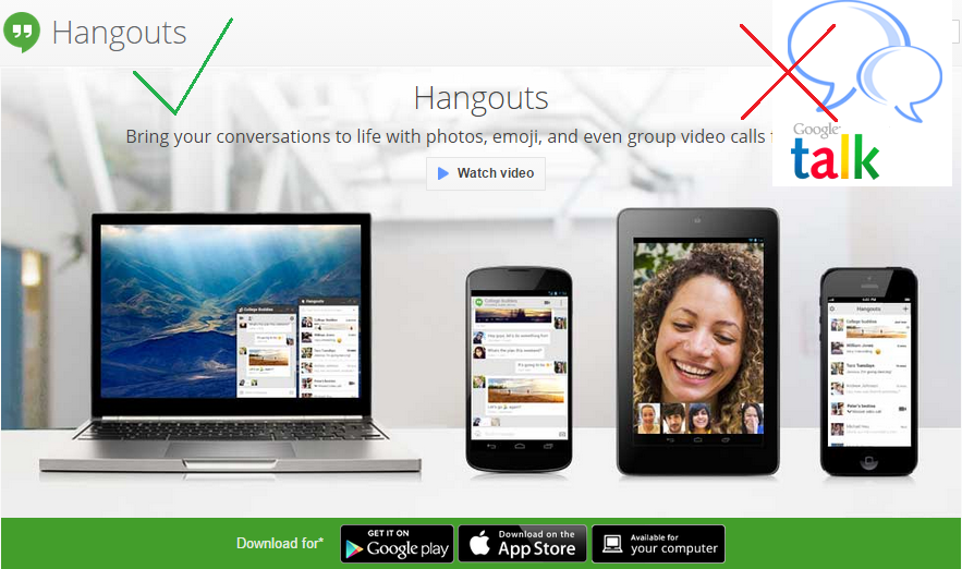 Google Gtalk Will Be Replaced With Hangouts On February 16