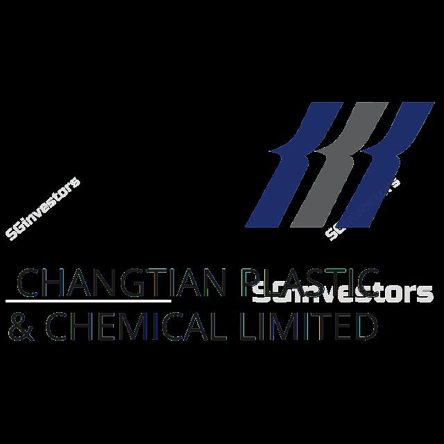 CHANGTIAN PLASTIC & CHEM LTD (AXV.SI) @ SG investors.io