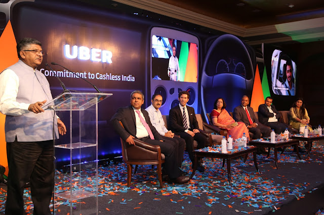 Uber commits to Government's vision of Cashless India