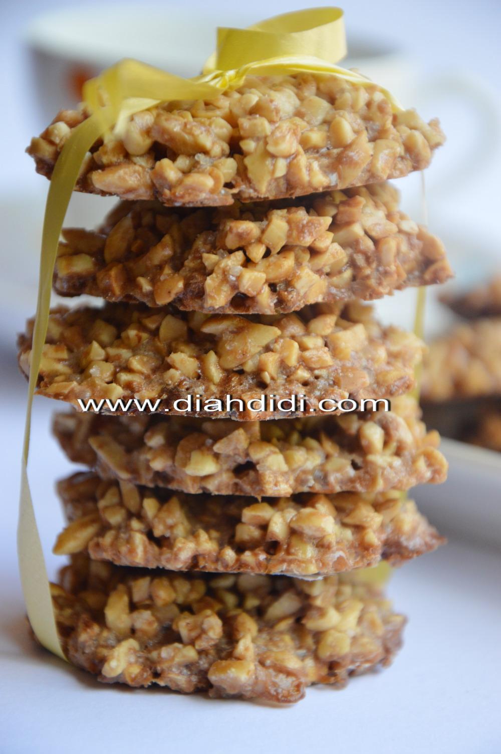 Diah Didis Kitchen Kue Kering Ampyang Kacang Coklat