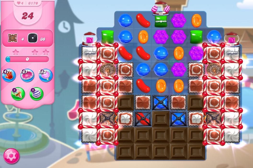 Candy Crush Saga level 6170