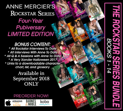 Special release for all of the fan of the Rockstar Series by Anne Mercier