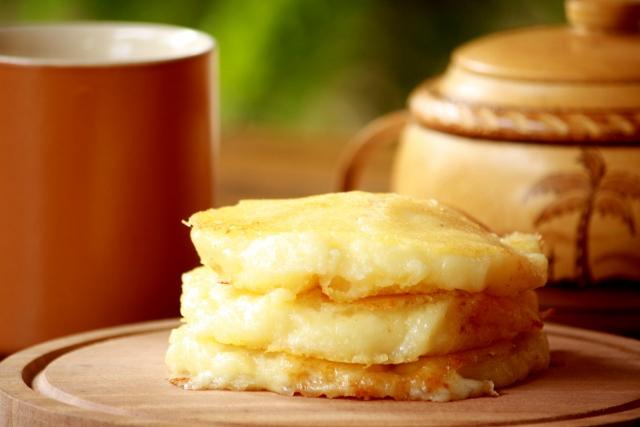Zonzo frito (Cheessy and fluffly Bolivian pancake) gluten free