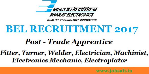 BEL Careers, BEL Apprentice jobs, Apprentice online registration