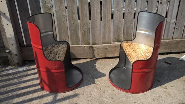 7 model desain kursi dari drum bekas