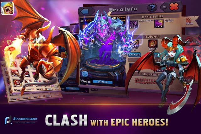 Clash of Lords 2: Guild Brawl MOD APK Latest Version