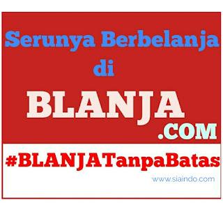 Belanja bulanan dari rumah di #Blanja.com aja