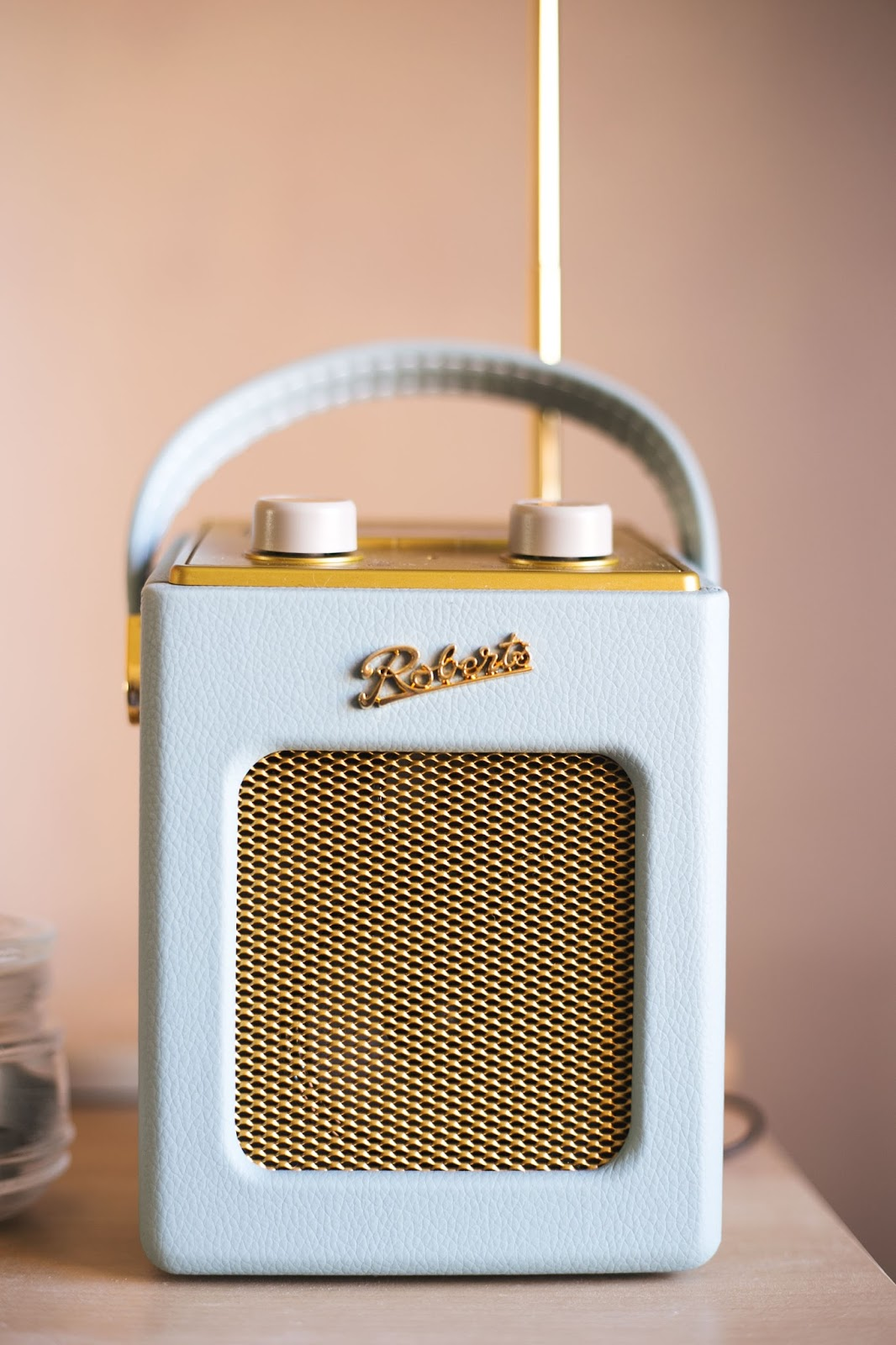 Roberts Revival Radio, Duck Egg Blue, Katie Writes, Interior Design Blogs,