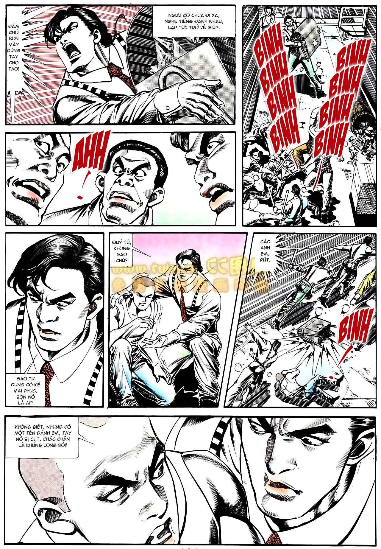 Người Trong Giang Hồ chapter 166: bùng nổ trang 10