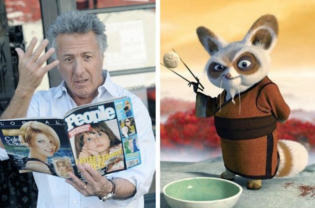 Dustin Hoffman - Master Shifu - Kung Fu Panda