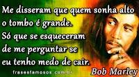 Frases Curtas de Bob Marley sobre Sonhar