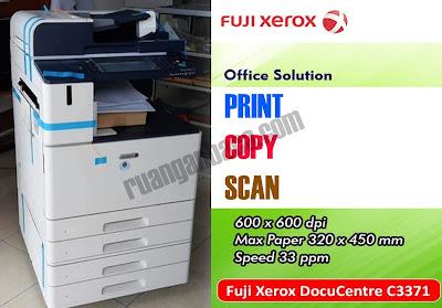 Spesifikasi Mesin Fotocopy Fuji Xerox docucentre-vi c3371