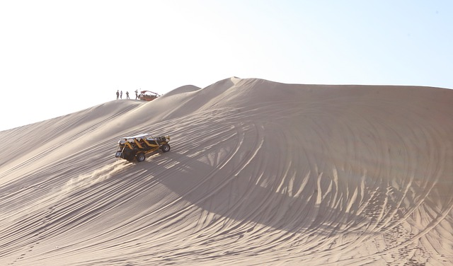 Ica and the Sand Dunes at Huacachina, Huacachina, Peru, Travel, Tourist Attractions, Tourism, Sand, Desert, sand desert,