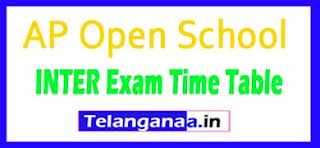 APOSS Intermediate Time Table 2017 apopenschool.org