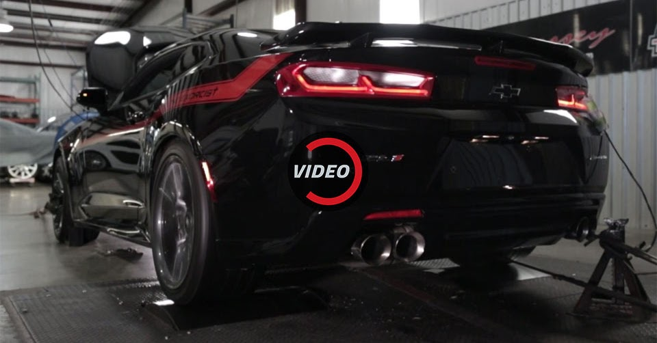 See Hennessey S Camaro Zl1 The Exorcist Lay Down 959 Hp